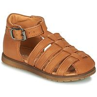 Schoenen Jongens Sandalen / Open schoenen Little Mary LIXY Bruin