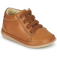 Schoenen Meisjes Hoge sneakers Little Mary GAMBARDE Bruin