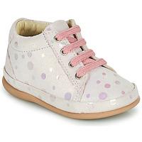 Schoenen Meisjes Hoge sneakers Little Mary GAMBARDE Roze