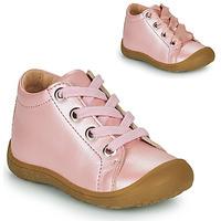 Schoenen Kinderen Hoge sneakers Little Mary GOOD Roze