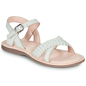 Schoenen Meisjes Sandalen / Open schoenen Little Mary LIANE Wit