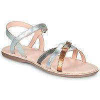 Schoenen Meisjes Sandalen / Open schoenen Little Mary LIGHT Zilver