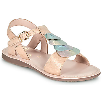 Schoenen Meisjes Sandalen / Open schoenen Little Mary MARIETTE Goud