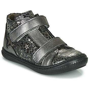Schoenen Meisjes Hoge sneakers Little Mary JACKLYN Zilver