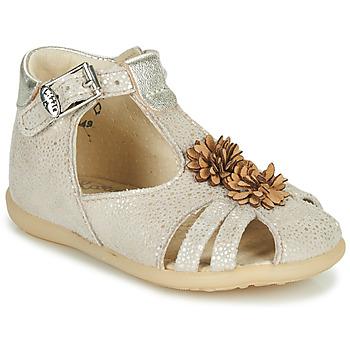 Schoenen Meisjes Sandalen / Open schoenen Little Mary GLADYS Beige
