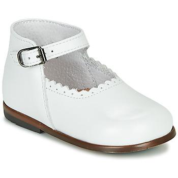 Schoenen Meisjes Sandalen / Open schoenen Little Mary VOCALISE Wit