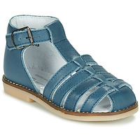 Schoenen Kinderen Sandalen / Open schoenen Little Mary JOYEUX Blauw