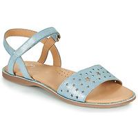 Schoenen Meisjes Sandalen / Open schoenen Little Mary LIO Blauw