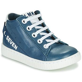 Schoenen Jongens Hoge sneakers Little Mary LUCKY Blauw