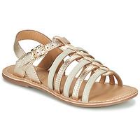 Schoenen Meisjes Sandalen / Open schoenen Little Mary BARBADE Goud