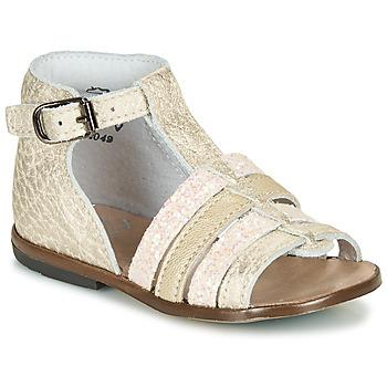Schoenen Meisjes Sandalen / Open schoenen Little Mary HOSMOSE Goud