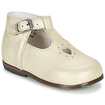 Schoenen Meisjes Sandalen / Open schoenen Little Mary NANNY SP Goud
