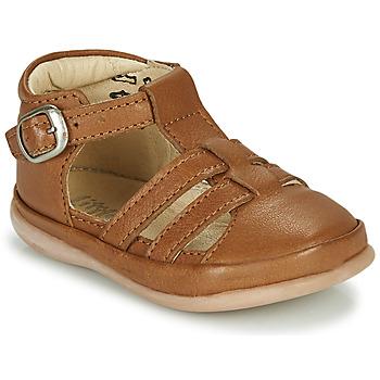 Schoenen Kinderen Sandalen / Open schoenen Little Mary LAIBA Bruin
