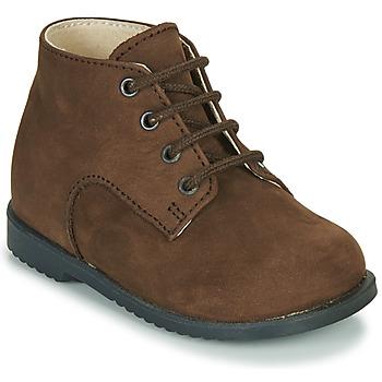 Schoenen Jongens Laarzen Little Mary MILOT Bruin