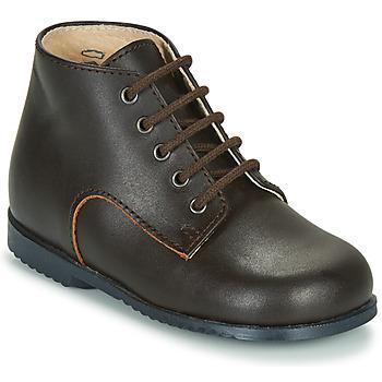 Schoenen Kinderen Laarzen Little Mary MILOT Bruin