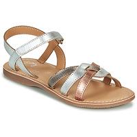 Schoenen Meisjes Sandalen / Open schoenen Little Mary LIGHT Zilver / Brons / Roze / Goud