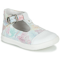 Schoenen Meisjes Sandalen / Open schoenen Little Mary VALSEUSE Wit / Multicolour