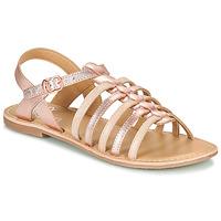 Schoenen Meisjes Sandalen / Open schoenen Little Mary BARBADE Roze