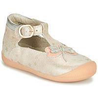 Schoenen Meisjes Sandalen / Open schoenen Little Mary GLYCINE Nude