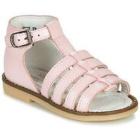 Schoenen Meisjes Sandalen / Open schoenen Little Mary HOLIDAY Roze