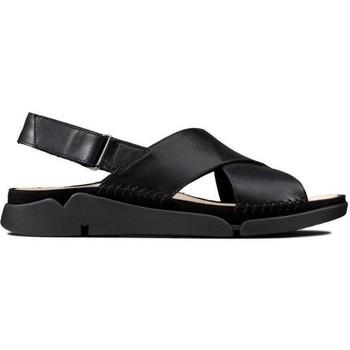 Schoenen Dames Sandalen / Open schoenen Clarks Tri Alexia Sandalen Schwarz