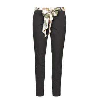 Textiel Dames 5 zakken broeken Betty London NIAOUTE Zwart