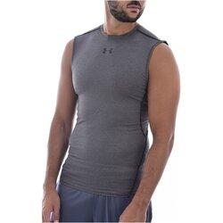 Textiel Heren Mouwloze tops Under Armour 1257469-090 Grijs