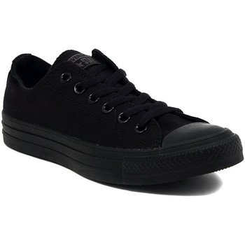 Schoenen Lage sneakers Converse ALL STAR   OX BLACK MONOCROME     84,4