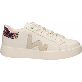 Schoenen Dames Lage sneakers Womsh CONCEPT white-snake-fuxia