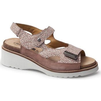 Schoenen Dames Sandalen / Open schoenen Calzamedi SANDAL  THANA BEIGE