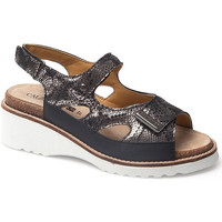 Schoenen Dames Sandalen / Open schoenen Calzamedi SANDAL  THANA BLACK