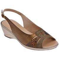 Schoenen Dames Sandalen / Open schoenen Confort  Bruin