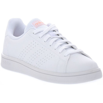 Schoenen Dames Lage sneakers adidas Originals ADVANTAGE BASE Bianco