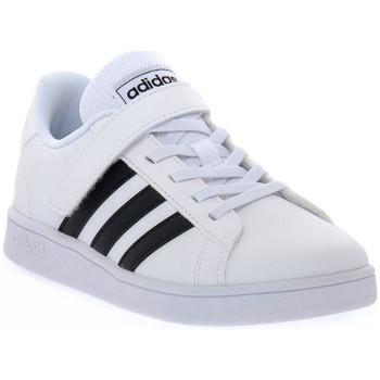 Schoenen Jongens Lage sneakers adidas Originals GRAND COURT C Bianco