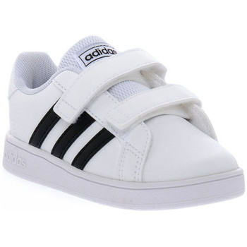 Schoenen Jongens Lage sneakers adidas Originals GRAND COURT I Bianco
