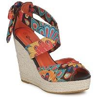 Schoenen Dames Sandalen / Open schoenen Moony Mood FIRNIL Zwart / Multi