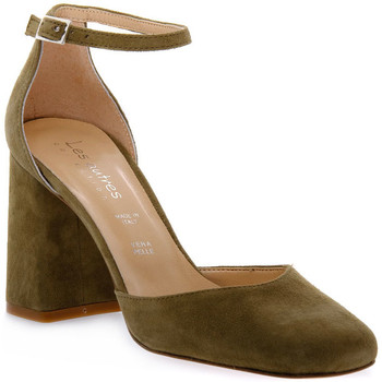 Schoenen Dames pumps Priv Lab KAKY CAMOSCIO Verde