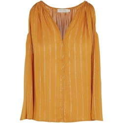 Textiel Dames Tops / Blousjes See U Soon 20211125 Geel