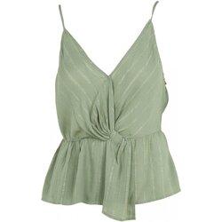 Textiel Dames Tops / Blousjes See U Soon 20111146 Groen