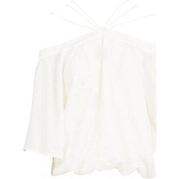 Textiel Dames Tops / Blousjes See U Soon 20111182 Wit