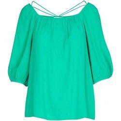 Textiel Dames Tops / Blousjes See U Soon 20111195 Groen