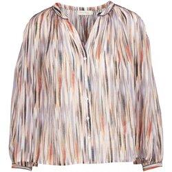Textiel Dames Tops / Blousjes See U Soon 20112073 Violet