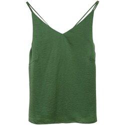 Textiel Dames Tops / Blousjes See U Soon 20112111 Groen