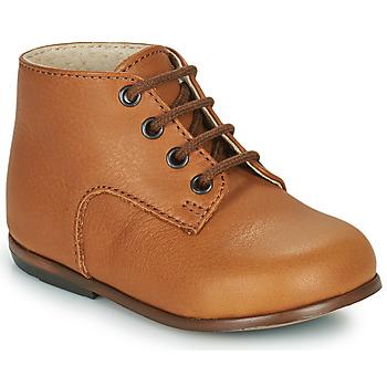 Schoenen Kinderen Hoge sneakers Little Mary MILOTO Bruin
