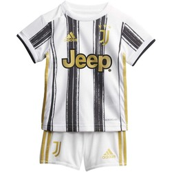 Textiel Kinderen T-shirts & Polo's adidas Originals Juventus Baby Thuistenue Wit