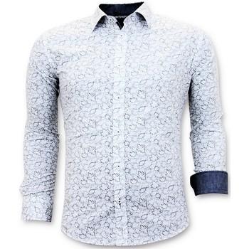 Textiel Heren Overhemden lange mouwen Tony Backer White Wit