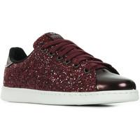 Schoenen Dames Lage sneakers Victoria Deportivo Tennis Glitter Y Espero Rood