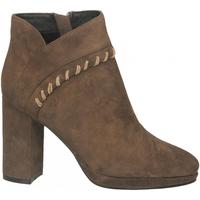 Schoenen Dames Low boots Café Noir FILO FORMA TACCO ALTO E PLATEAUX CON INFILATURA CA 273-taupe