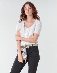 Textiel Dames Tops / Blousjes Betty London OOPSO Wit