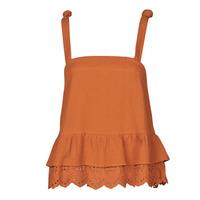 Textiel Dames Tops / Blousjes Betty London OULINE Roest